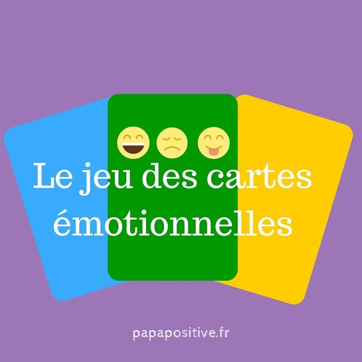 La connaissance des émotions est une des clés de l'épanouissement de tous. C'est pourquoi il est essentiel de commencer le plus tôt possible. Le jeu que je vous présente aujourd'hui a cette vocation. Il se pratique en duo, en famille ou en groupe. Emotions garanties ! :)