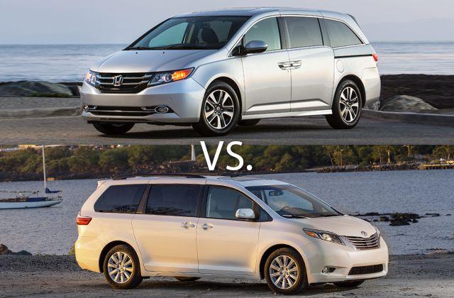 Best Minivan: 2016 Honda Odyssey Vs. 2016 Toyota Sienna | U.S. News & World Report