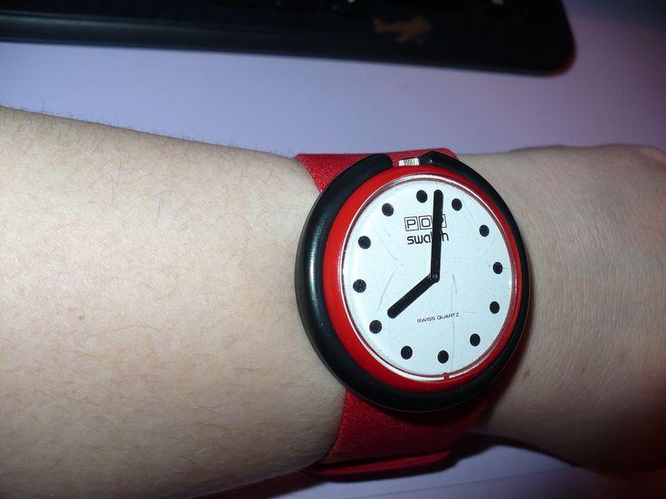 https://flic.kr/p/bHTgCF | My 1987 Swatch Watch