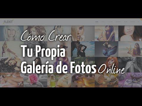 Cómo Crear una Galería de Fotos Online