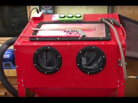 Harbor Freight Blast Cabinet Assembly, Upgrades, and Lessons