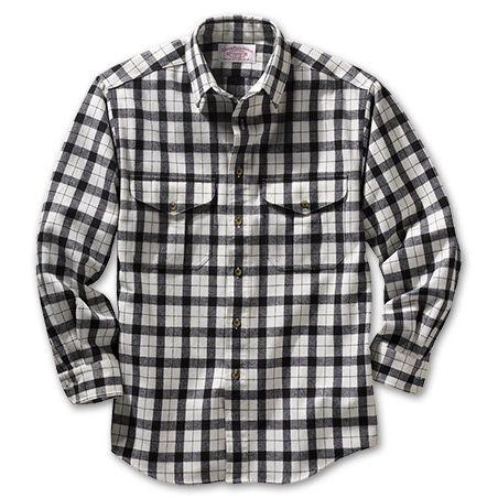 Durable, soft-brushed flannel - Alaskan Guide Shirt