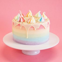 Rainbow Unicorn cake from Crumbs and Doilies, London UK