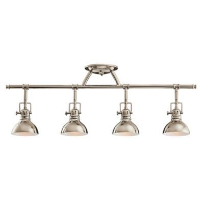 handsome track lighting.  Yes!  Jones 4-Light Adjustable Ceiling Mount