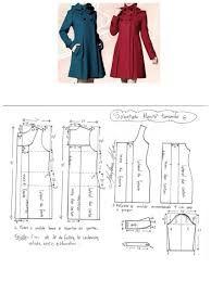 Image result for pinterest casacos e pelerine com molde