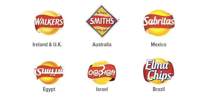Same potato chips around the world