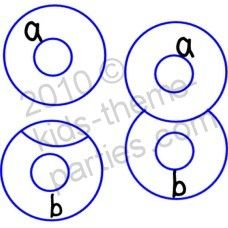 diagram to make number 8 cake