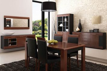 VIEVIEN SZYNAKA Dining room  furniture set. Modern design and perfect execution are ideal solution for most demanding users. Polish Szynaka Modern Furniture Store in London, United Kingdom #furniture #polish #szynaka #diningroom