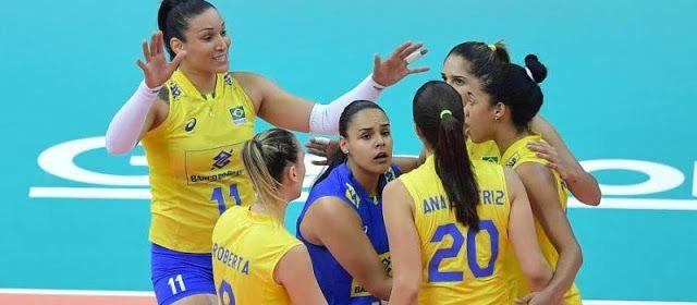 Seleção brasileira feminina de vôlei conquista 12º título no Grand Prix http://ift.tt/2vuQj4i