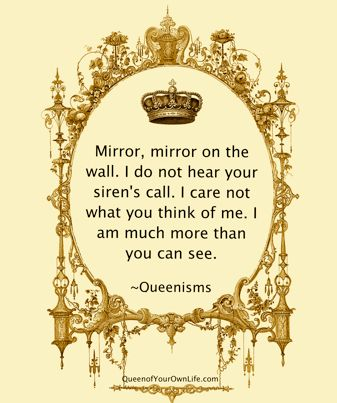 Wouldn't this be an awesome mirror for every fairy tale? Remind your children every day they are more than they see in the mirror.  #Free2Luv