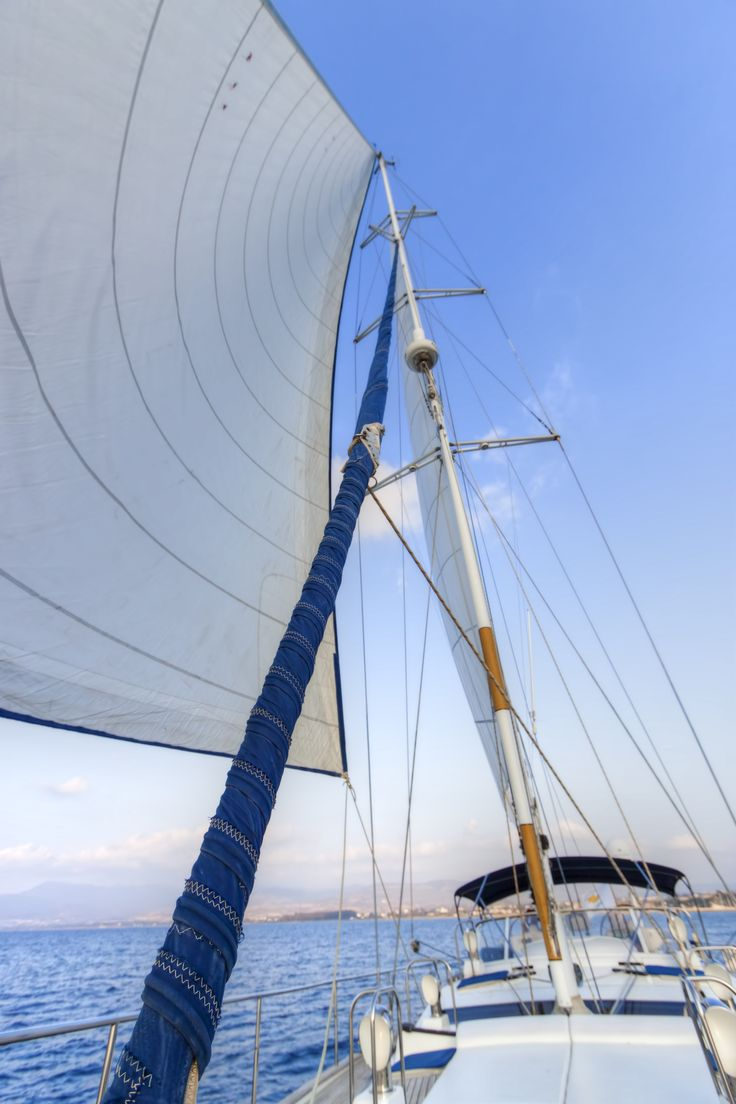 With the meltemia (the prevailing north winds that blow every summer from about 5 to 7 Beaufort) in your sails, you'll start your own Odyssey.
