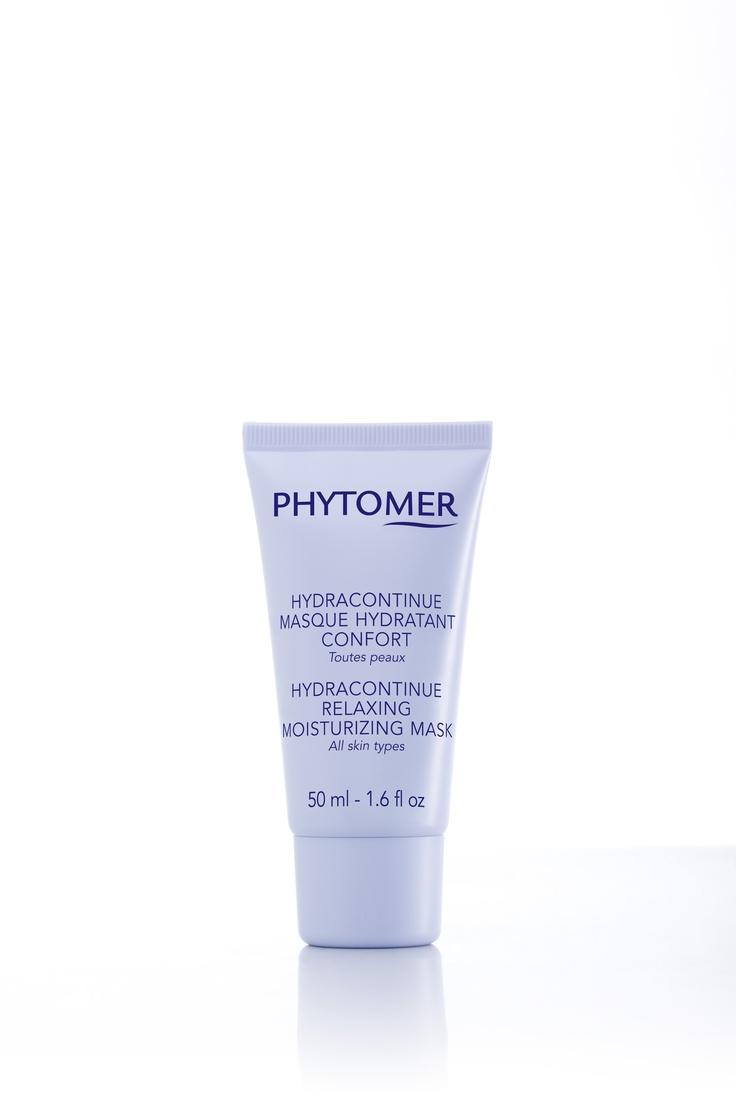 Masque hydratant confort utilisé pour les soins hydracontinue. Ce produit est en vente à la boutique du Spa et Hôtel le Finlandais.