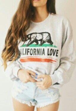 California love clothes