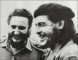 Fidel Castro and a group of followers, including the South American revolutionary Che Guevara(1928-1967)landed in Cuba to unseat the dictator