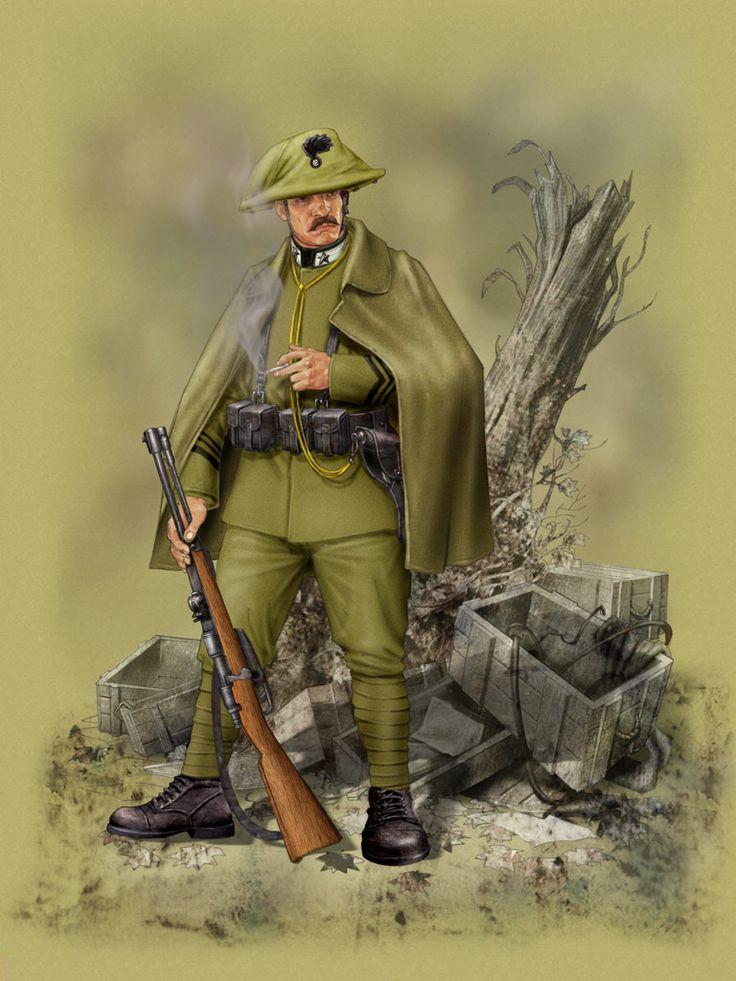 Regio Esercito, Carabiniere - 1915