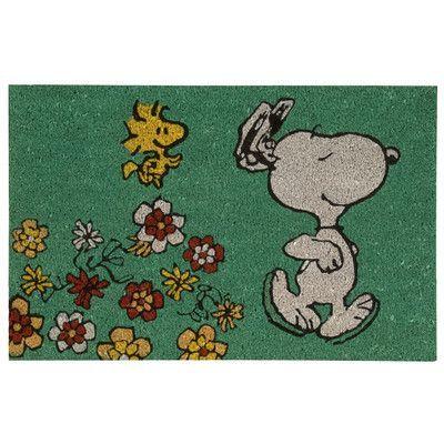 Nourison Peanuts Dancing Doormat
