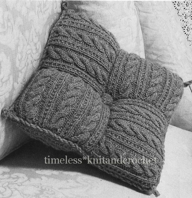 Free Cushion Cover Knitting Patterns : 78 Best ideas about Aran Knitting Patterns on Pinterest Sweater knitting pa...