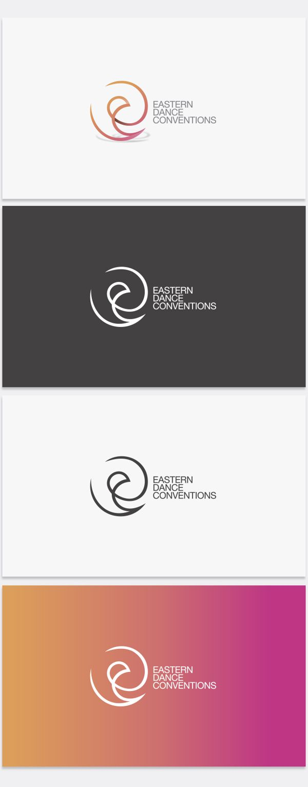 Logo and Identity  – Eastern Dance Conventioms