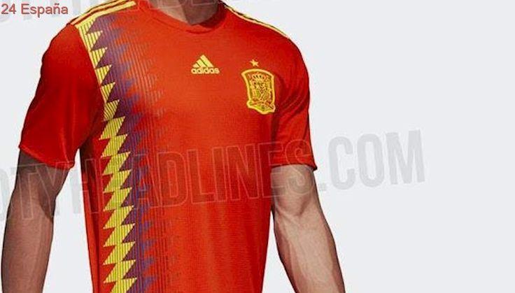 ¿Los colores de la bandera republicana en la camiseta de la selección española?