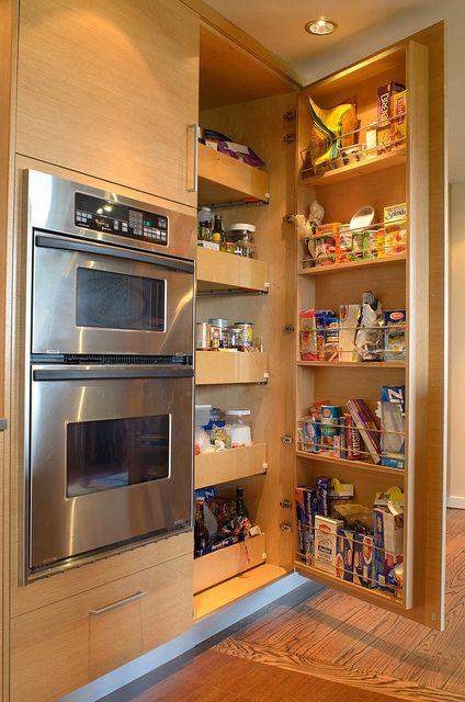 pantry open rangement id e cuisine et r novation de cuisine. Black Bedroom Furniture Sets. Home Design Ideas