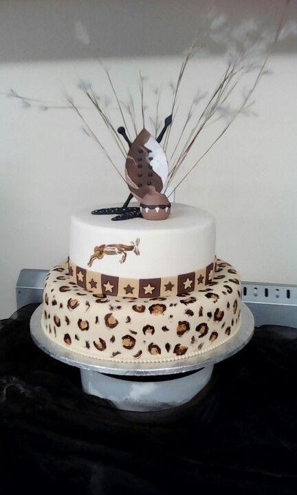 African morden cake