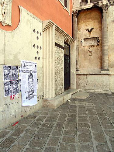 carlo scarpa, venezia november 2006 entrance to the faculty of philosophy, venice, italy, 1976-1978. architect: carlo scarpa, 1906-1978. completed posthumously.