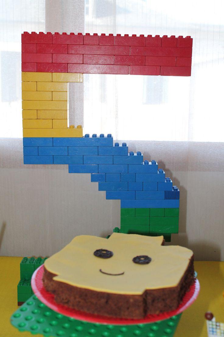 Un super gâteau Lego!
