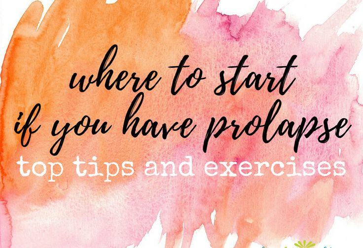 What to do if you have prolapse. - Pelvic organ prolapse is a very common condition in women! If you think that you might have prolapse, this article will help you find a treatment provider,  and learn the key factors to prevent, reduce, or manage symptoms.   FemFusion Fitness #womenshealth