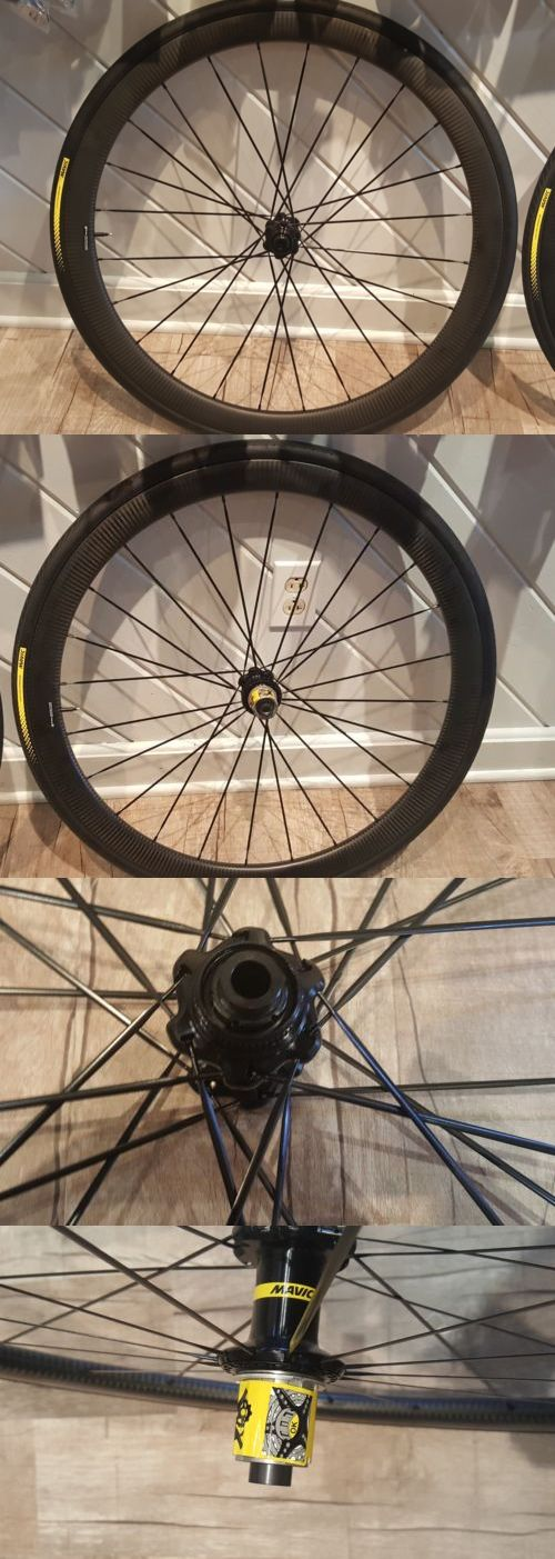 Wheels and Wheelsets 177830: New Mavic Cosmic Pro Carbone Sl C Disc Wheelset With Tires -> BUY IT NOW ONLY: $1450 on eBay!