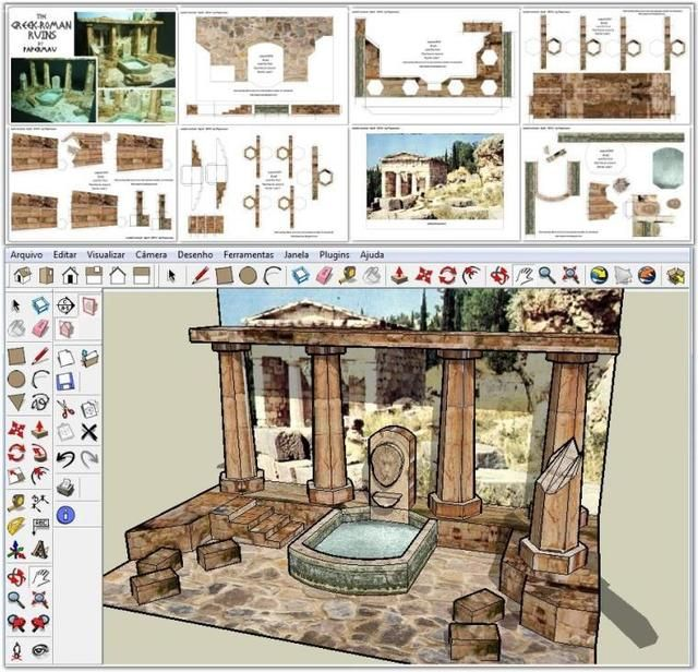 17 Best Images About Diorama Templates. On Pinterest