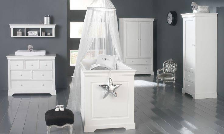 Kidsmill Marseille Traditional White Nursery Furniture Set - Crux Baby £1613.70. Traditional white nursery furniture set in the cottage style – its timeless design guarantees a lifetime of use either in your child's room as they grow or elsewhere in your home.