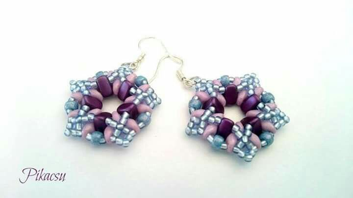 #eMMičky #eMMA #beads #Estrella #earring
