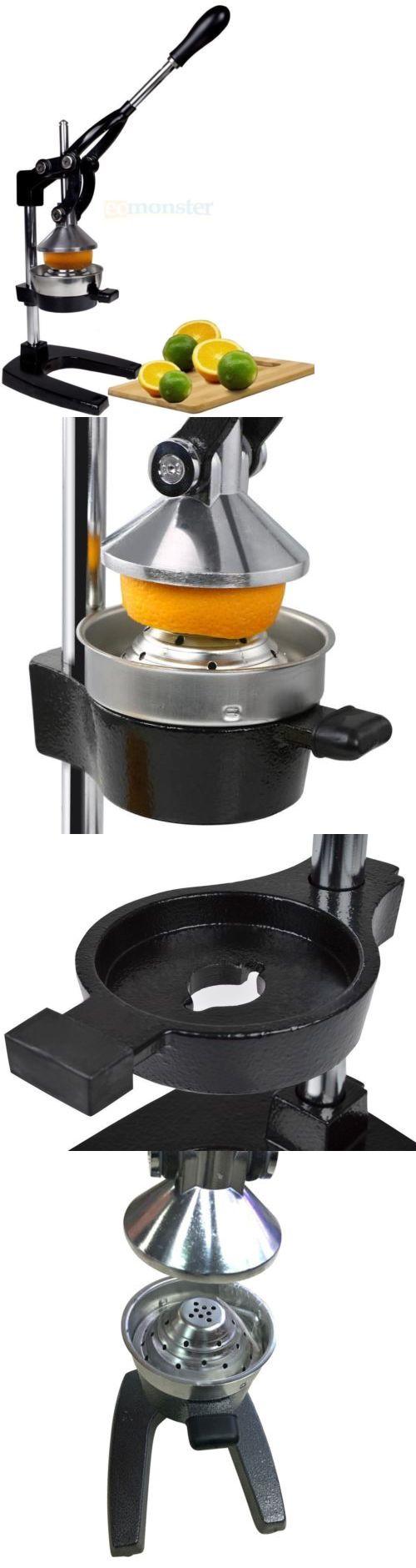 Small Kitchen Appliances: New Orange Hand Press Manual Fruit Juicer Juice Squeezer Citrus Orange Lemon BUY IT NOW ONLY: $35.89