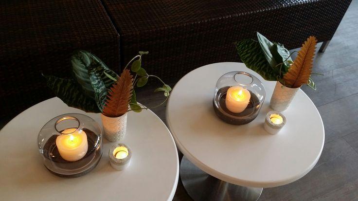 Coffee table settings