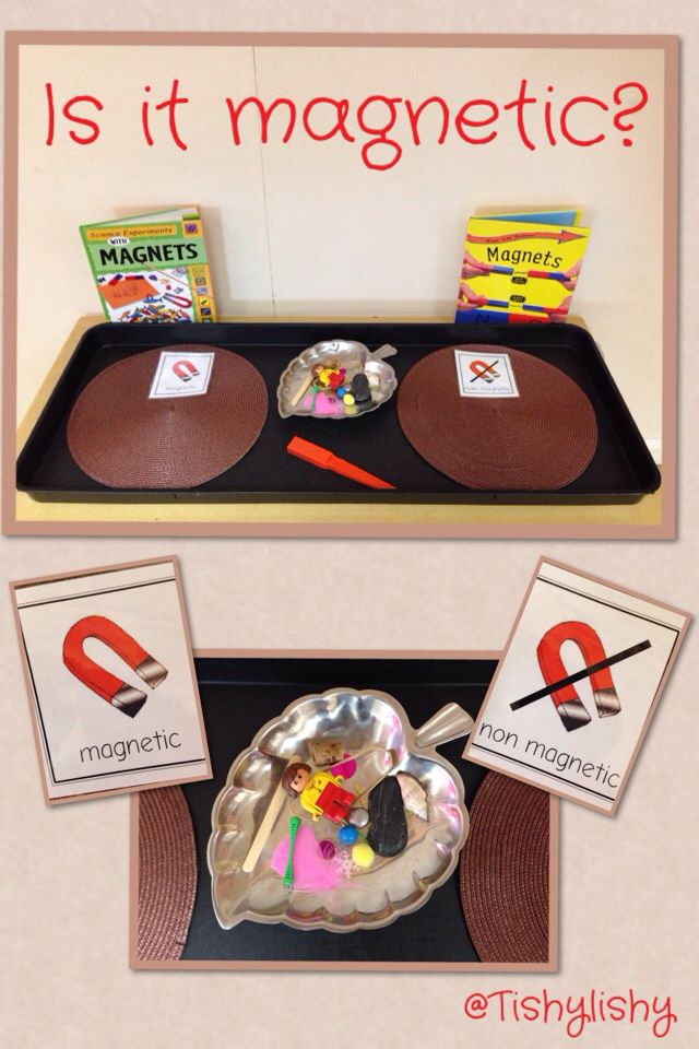Magnetic sorting investigation.                                                                                                                                                                                 More