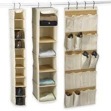 Organize sem frescuras!: Produtos organizadores de closet e armário