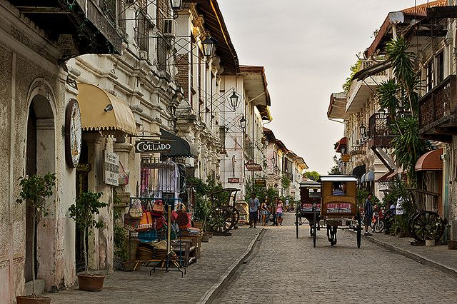 Vigan - An intact Spanish town in the Philippines.