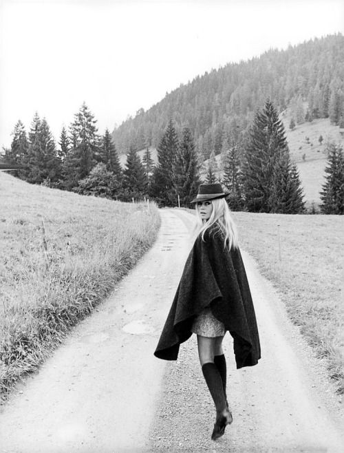 missbrigittebardot:  Brigitte Bardot in Germany, 1967 Everything's coming back in style...