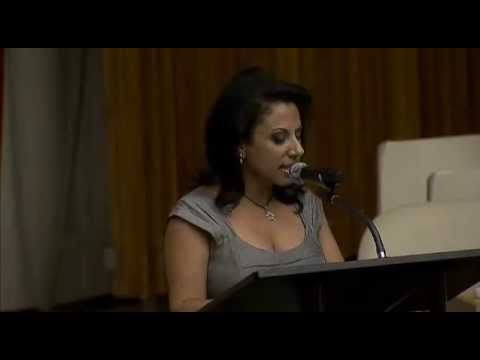 ▶ Brigitte Gabriel keynote speaker at United Nations - YouTube Please listen & SHARE, everyone needs to hear this. She knocks it out of the park every time ! Excellent !!