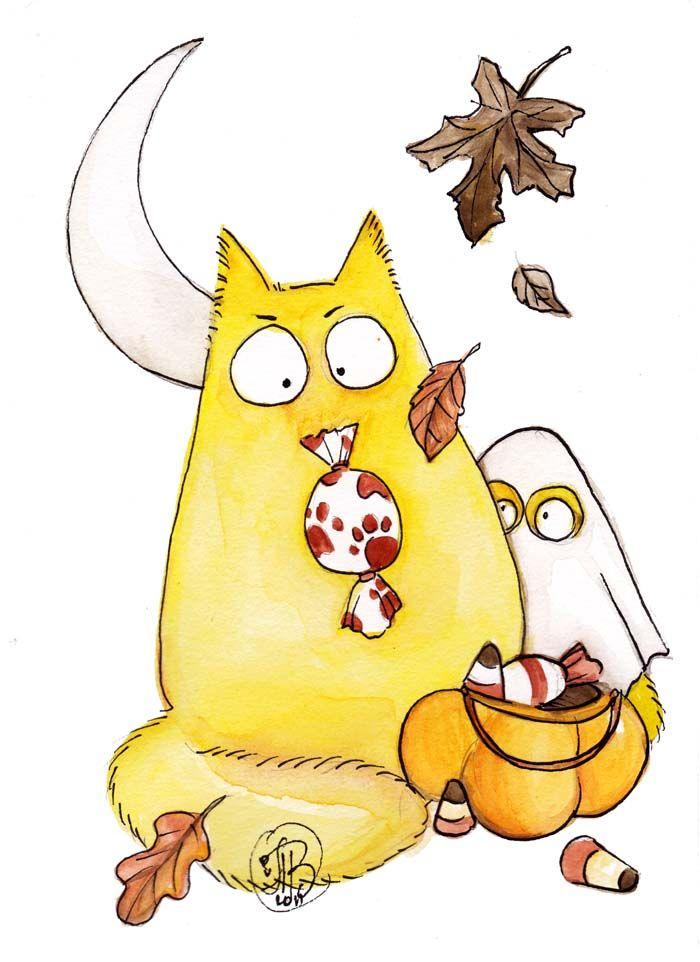 Картинки нарисованных котов с надписями, картинки про уборку