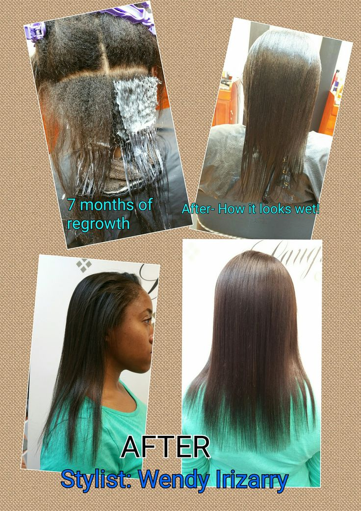 Japanese Straightening a.k.a Thermal Reconditioning. Can be done on all textures!