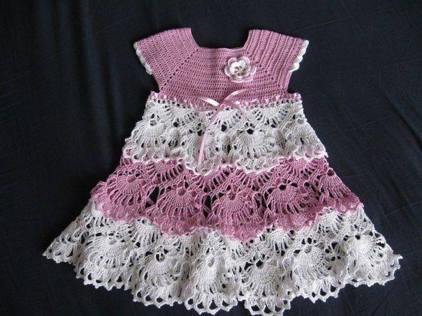 beautiful dresses crochet for girls with standard - Crochet Designs Free