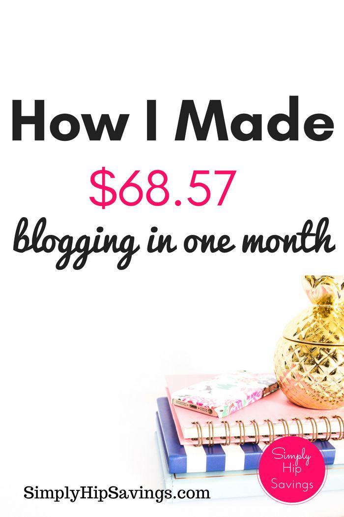 HOW I MADE $68.57 BLOGGING IN AUGUST – INCOME REPORT
