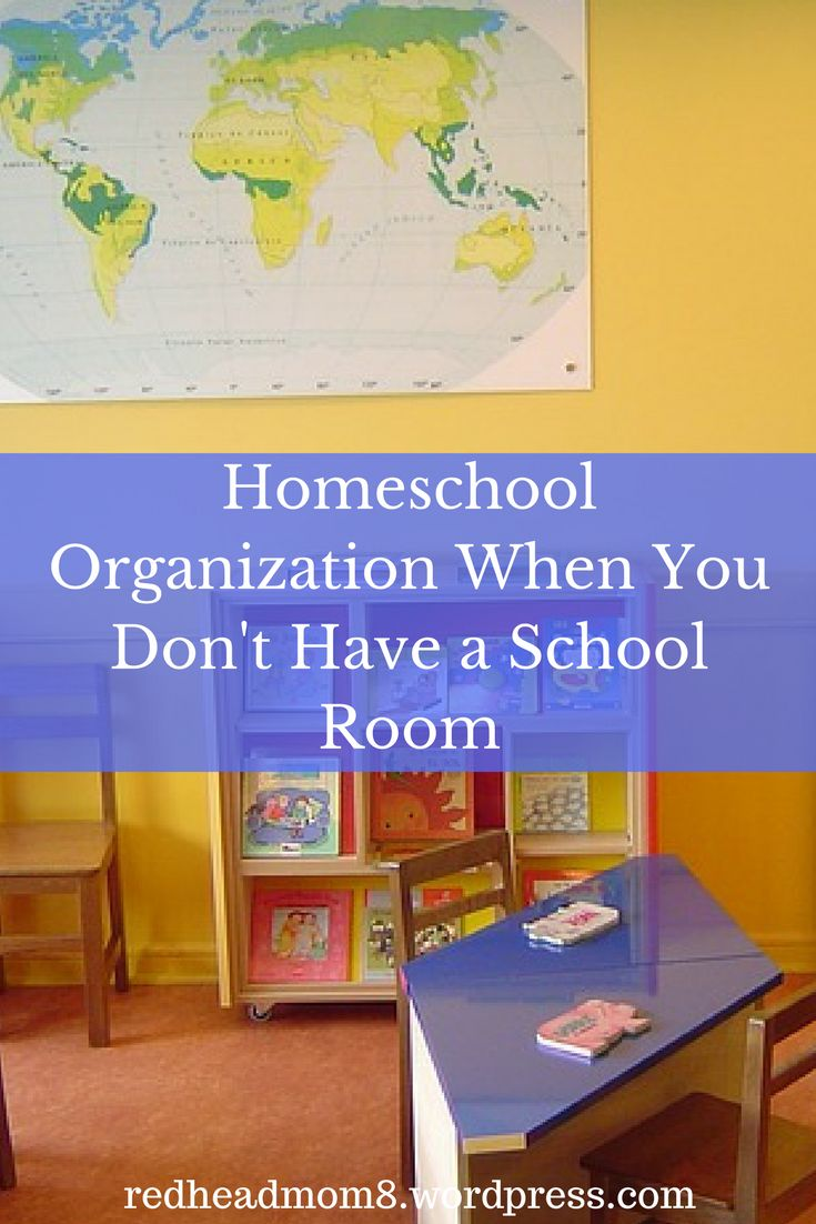 Don't have a school room for your homeschool? No problem. Here are five tips to bring some order back into your home.