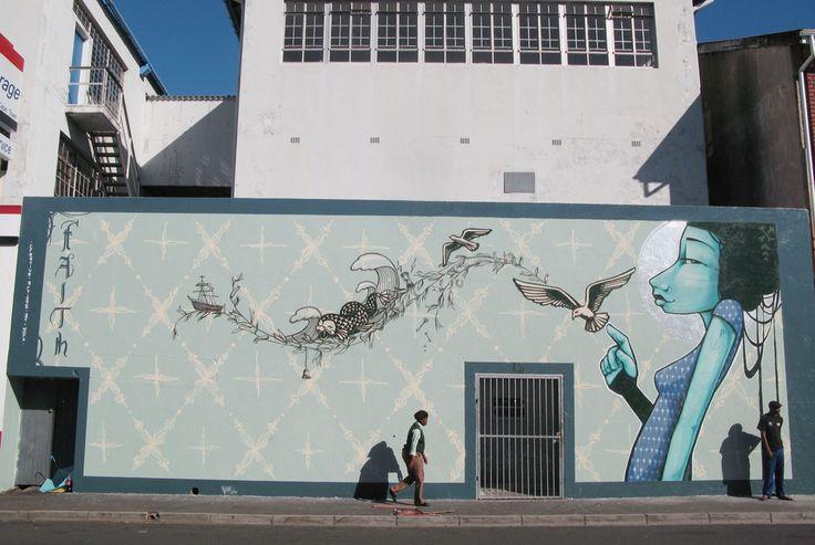 Cape Town Graffiti: Faith
