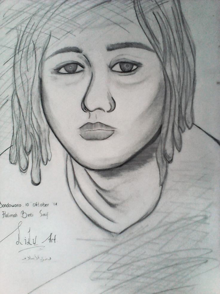 sketch by lilu binti saif   objek : fahrul islam
