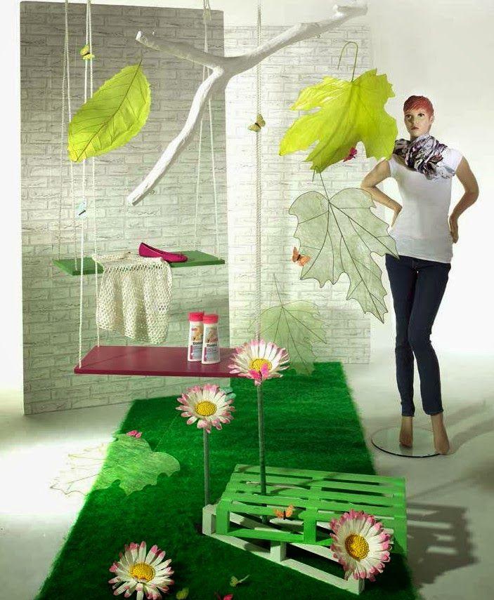 27 fantastiche immagini su idee vetrina estate 2013 su - Idee per vetrine primaverili ...