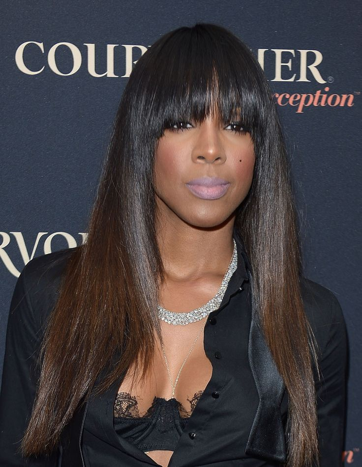 Kelly Rowland Shows Off Sombre ( Subtle Ombre Hair Trend )