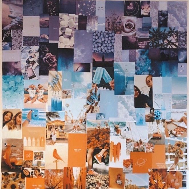 How To Make A Collage Moodboard For Your Wall Wall Collage Picture Collage Wall Retro Wallpaper