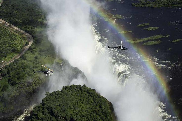 The best way to experience the Victoria Falls. www.royalchundu.com/victoria-falls/